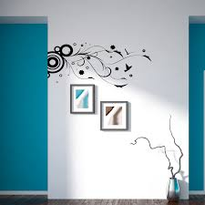floral wall decals and flower stickers and wall art
