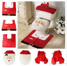 cheap 2017 merry christmas decoration santa toilet seat cover