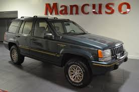 1994 jeep grand for sale 1994 jeep grand limited 69650 green metallic