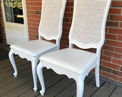 Painting Vinyl Chairs French Provincial Chair Etsy
