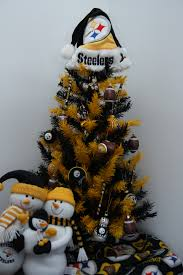 steelers tree i want the snowman to go with the rest of