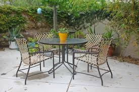 Rewebbing Patio Furniture by How To Find Vintage Patio Furniture Laguna Dirt