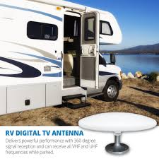 Radio Antennas For Rvs Amazon Com Winegard Rs 3000 Roadstar Amplified Digital Hd Rv Tv