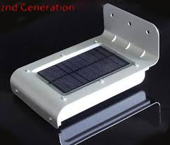 Solar Powered Outdoor Lights by Online Cheap 16 Led Solar Power Motion Sensor Solar Garden Light