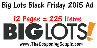 big lots black friday 2015 ad 12 pages 225 items black