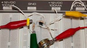 741 op amp demo circuits youtube