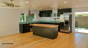 Wood Flooring In Kitchen by Cedar Flooring Everything You Need To Know