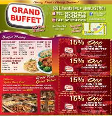 China Wall Buffet Coupon by Grand Buffet Home Liberal Kansas Menu Prices Restaurant