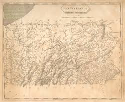 map of pa antique maps of pennsylvania
