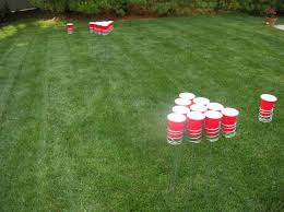 Backyard Drinking Games Yard Beer Pong For Those Who Tailgate On Grass Tailgating Ideas