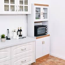kitchen pantry storage cabinet microwave oven stand with storage gymax microwave cart stand kitchen storage cabinet shelves pantry cupboard white