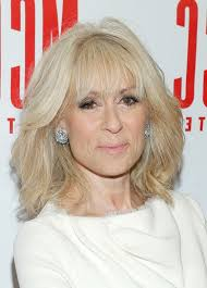 mid length hair styles for the older woman judith light latest textured medium haircut with layers for older