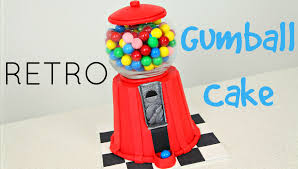 make a vintage gumball cake cake style youtube