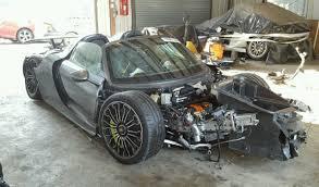 salvage porsche 911 for sale wrecked and salvaged porsche 918 spyder for sale hsvsingles info