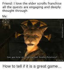 The Elder Scrolls Memes - 25 best memes about jumbo jumbo memes