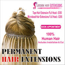 permanent extensions go stylish go colourful with the variety of permanent hair
