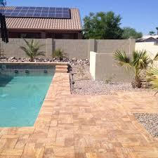 residential hardscape designs phoenix az sunburst landscaping