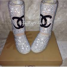 ugg s decatur boots brown 10 best pearl and swarovski bling ugg boots images on