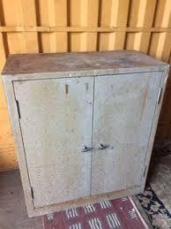 industrial metal bathroom cabinet vintage shabby chic bedside cupboard rustic industrial metal