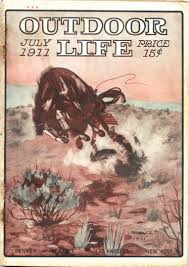 outdoor life illustrations by lon megargee collier gallery ltd