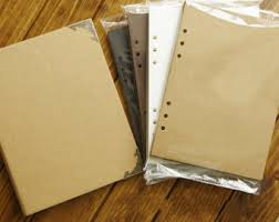 Binder Photo Album Blank Kraft Hardcover Diy Scrapbook Photo Album 6 Ring