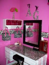 Zebra Room Divider Zebra Print Red Girls Wall Art Decor By Collagebycollins On Etsy