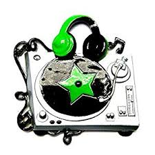 amazon com dj turntable personalized christmas tree ornament by
