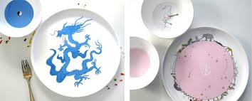 pretty plates for project nursery
