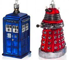 doctor who tree ornaments tree and ornament