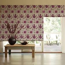 Roman Blinds Pattern Presto Pink Geometric Pattern Roman Blinds Price Specification
