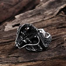 aliexpress com buy halloween gifts gothic men punk dragon rings