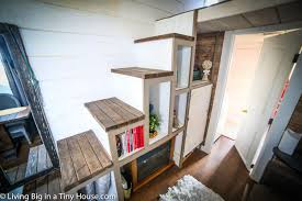 Composting Toilet For Tiny House by Young Woman Escapes Crazy Rent With Tiny House Living Big In A