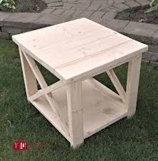 X Side Table Diy Rustic X Side Table 100 Things 2 Do