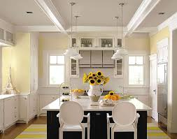 pale yellow kitchen walls version of the cottage kitchen