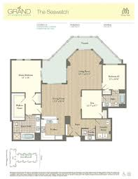3 Bedroom Condo Floor Plan Residence 511 The Grand