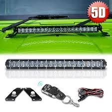 20 single row led light bar racbox 20 inch 100w with cree chips single row led light bar combo