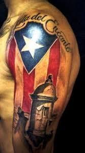 puerto rico flag tattoos designs puerto rican flag tattoo