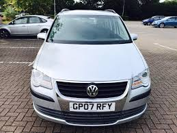 2007 vw touran diesel full service historyre recently serviced