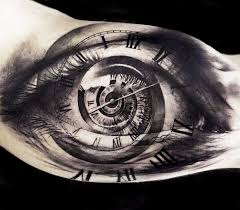 tattoos on biceps for guys time eye tattoo by oscar akermo tattoos pinterest tattoo