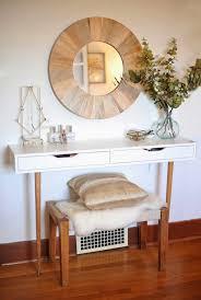 Jewelry And Makeup Vanity Table Diy Makeup Vanity Table Ideas
