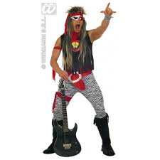 Rockstar Halloween Costumes Mens Rock Star Costume Rockabilly 60s Vintage Retro Fancy