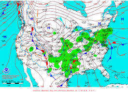 Cold Front Map Significant Corpus Christi Ice Storms