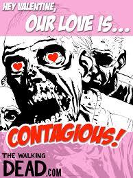Walking Dead Valentine Meme - walking dead valentines because we care the walking dead