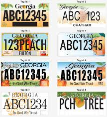 Georgia travel contests images Georgia license plate design contest jpg