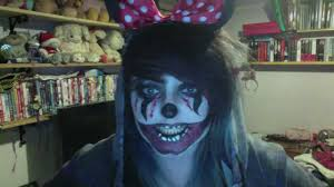 mickey mouse halloween makeup halloween make up dead minnie mouse youtube