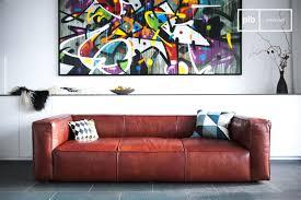 vintage sofa krieger vintage sofa upholstered grain leather pib