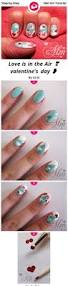 15 easy step by step valentine u0027s day nail art tutorials for