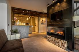 Trentino Outdoor Fireplace by Chalet Prades Dolomiti Lodges La Villa Italy Booking Com