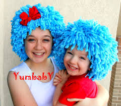 1 2 Halloween Costume Halloween Costume 1 2 Wigs Dr Seuss Blue Wig