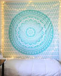 Bedroom Ideas With Tapestry Aquamarine Mermaid Sparkly Tapestry Tapestry Picnics And Bohemian